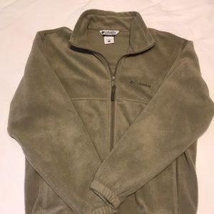 Men's Columbia fleece jacket